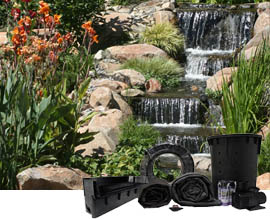 Pondless Waterfall Kits | Half Off Ponds
